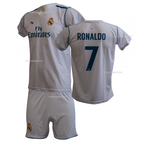 Completo Real Madrid CRISTIANO RONALDO Replica Ufficiale Home 2017-2018