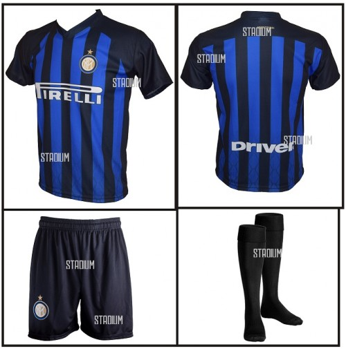 outlet store b33a9 4d4cd OFFICIAL FC INTER HOME KIT REPLICA 2016-2017 ICARDI