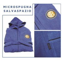 Accappatoio Inter Ufficiale Adulto in microspugna