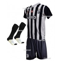 Completo Ufficiale Juventus Howedes Replica Home 2017-2018
