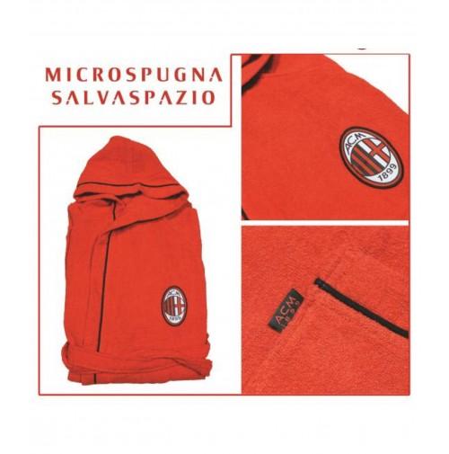 Accappatoio AC Milan Ufficiale Adulto in microspugna