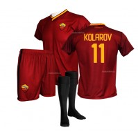 Completo Ufficiale AS Roma Kolarov Replica Home 2017-2018