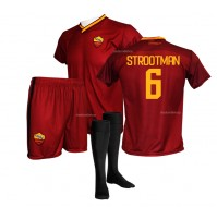 Completo Ufficiale AS Roma Strootman Replica Home 2017-2018