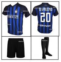 Completo Basic Inter Borja Valero Replica Ufficiale Home 2018-2019