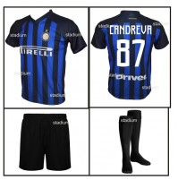 Completo Basic Inter Candreva Replica Ufficiale Home 2018-2019