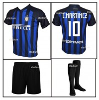 Completo Basic Inter L. Martinez replica Ufficiale Home 2018-2019
