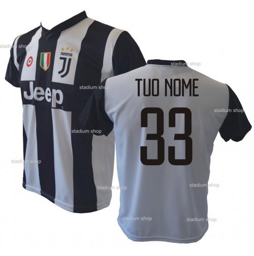 82f0217792d9e0 Maglia Juventus Personalizzata Home Replica Ufficiale 2018-2019 Autorizzata