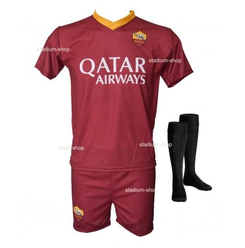 0d2ff0f0c2 Completo Ufficiale AS Roma Dzeko Replica Home 2018-2019